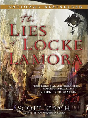 cover image of The Lies of Locke Lamora